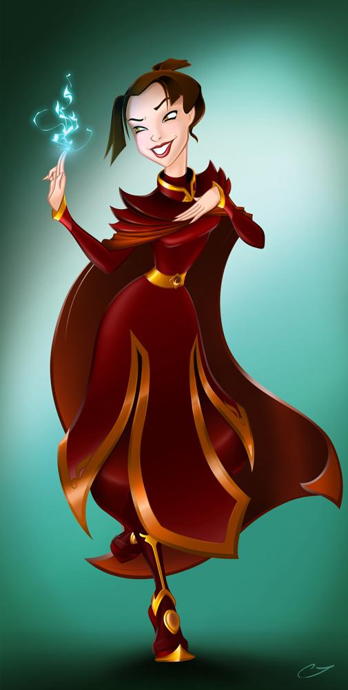 Disney Princess Auditions- Azula by RinRenee