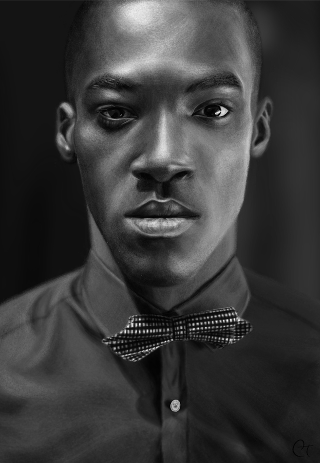 Bow tie by RinRenee