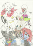 Undertale and other AU