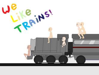 I Like Trains. by BBH-Bases