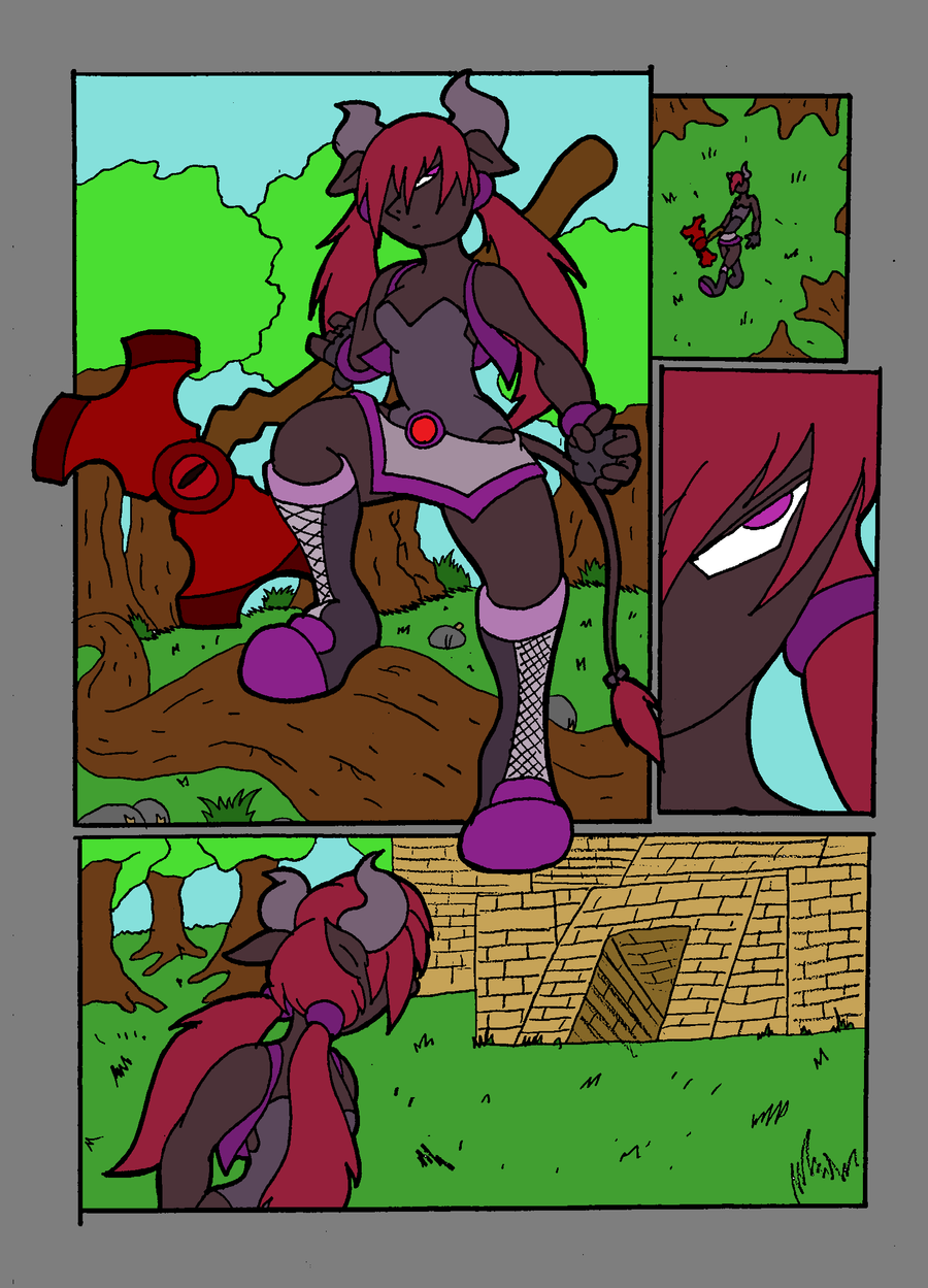 The Magical Tiara. P1 Colored by ZeroConfidence