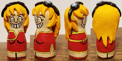 Bowling Pin Lilina Sculpture by ZeroConfidence