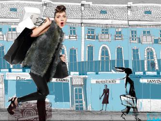 a Shopaholic by chilliy