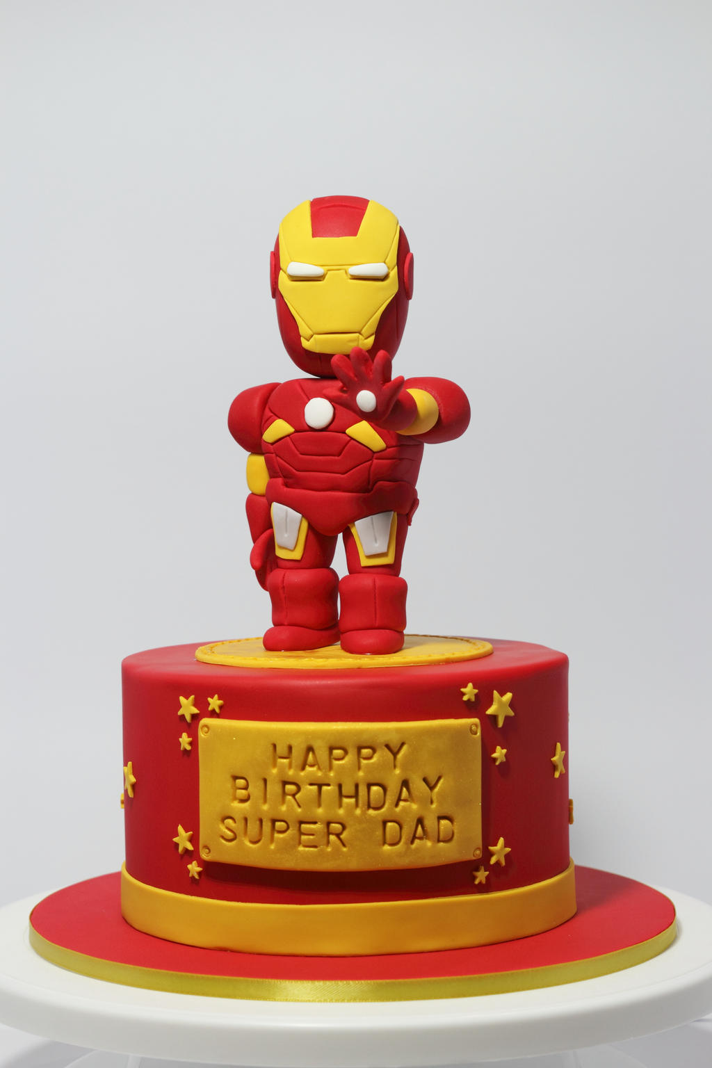 Iron Man Cakes Pictures