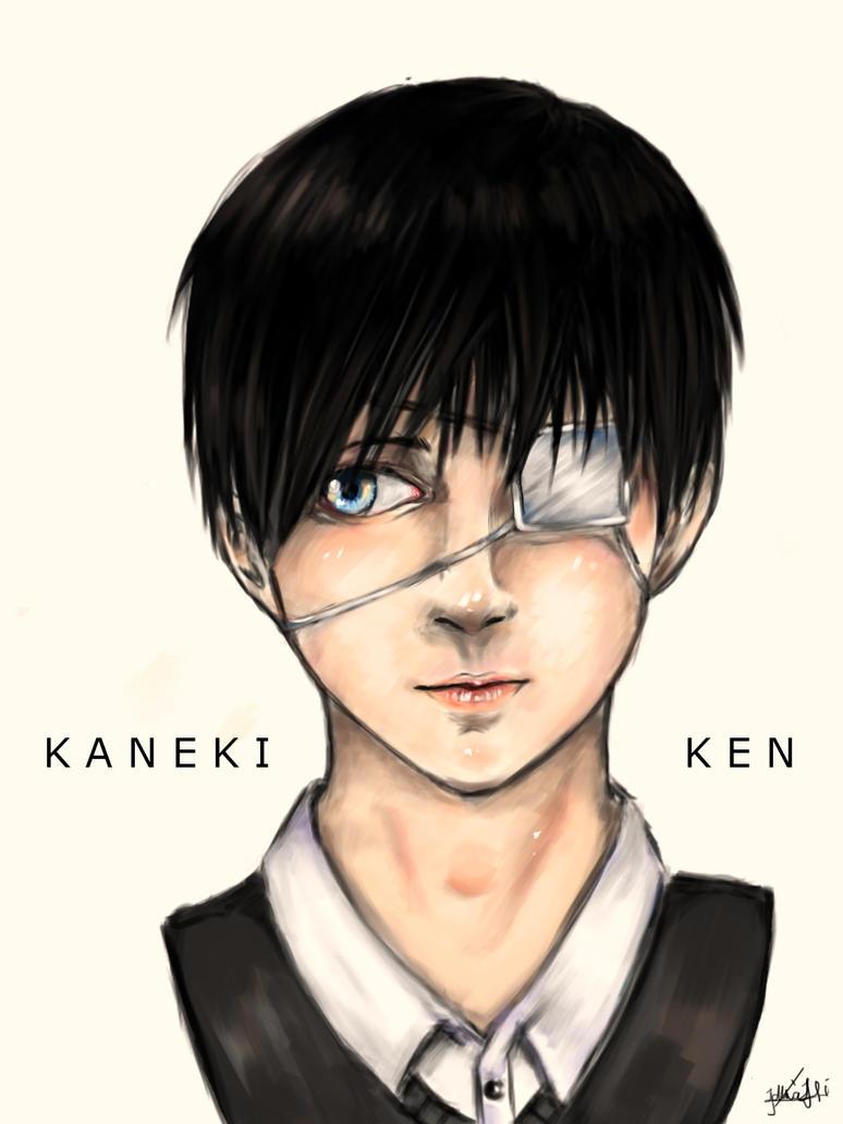 Kaneki Ken by Adlina1