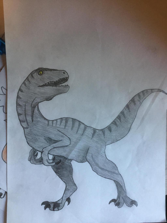 Velociraptor by CreepypastaJTK