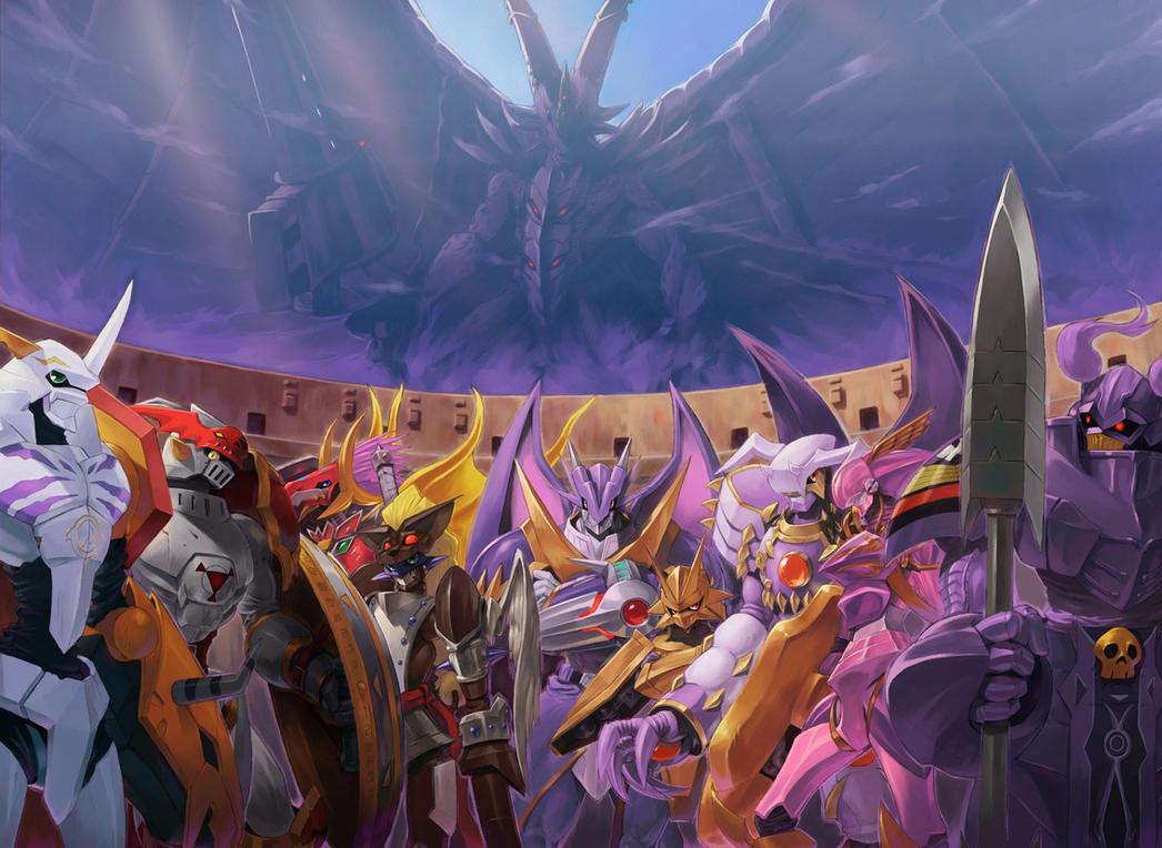 Royal knights by sasakaz on DeviantArt