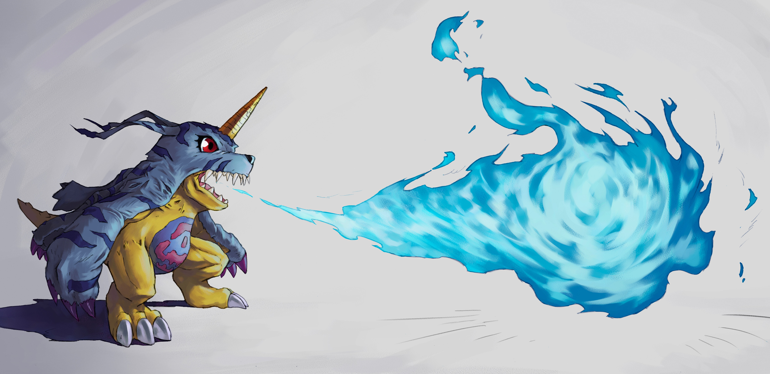 Gabumon by sasakaz
