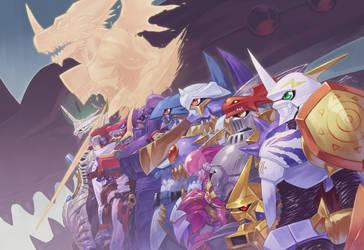Royal knights 3 by sasakaz