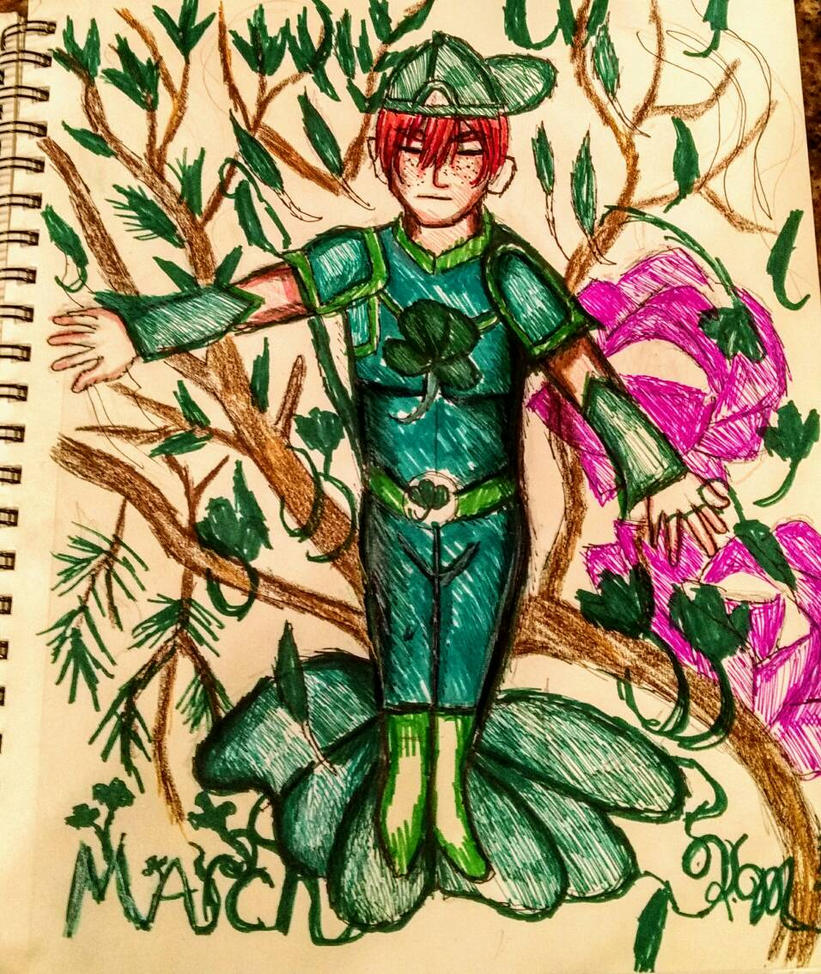 Yearly village _March Clover by firecrystal1092