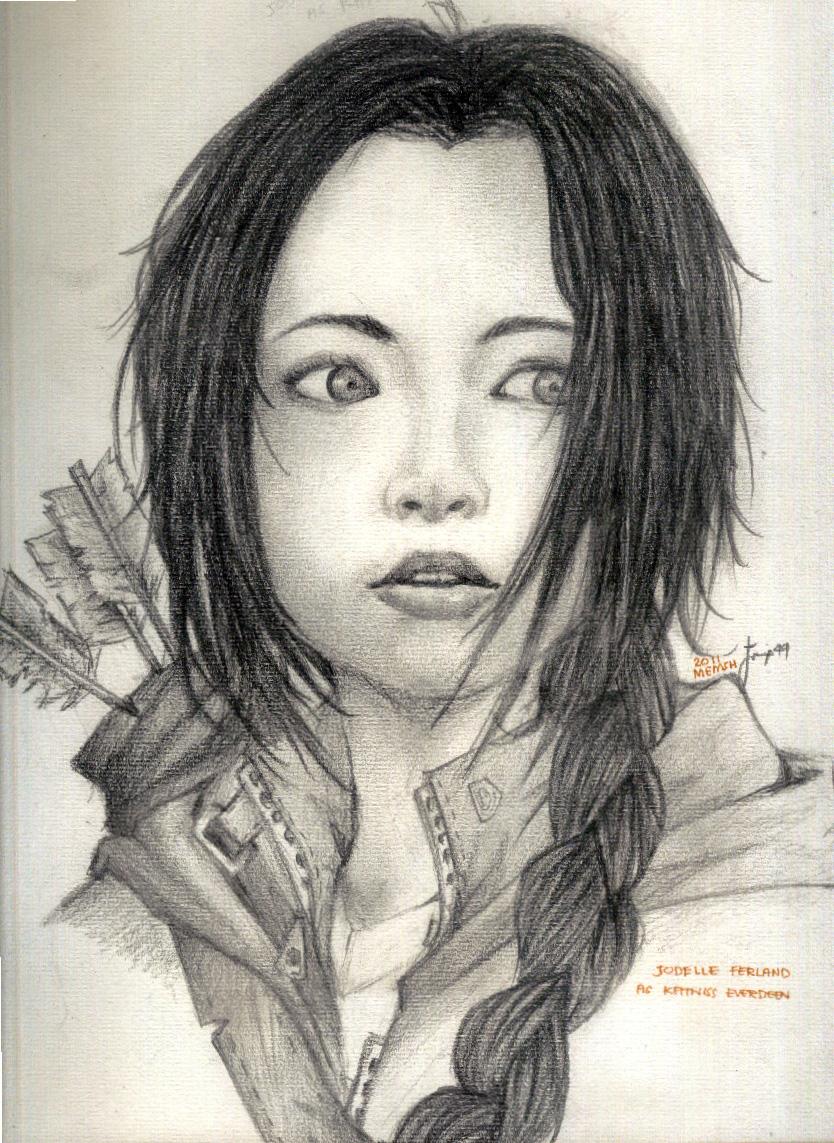 Katniss Everdeen by mEmsh