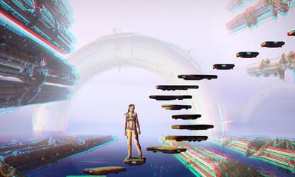 Siriuscity (Stereoscopy) by Hel1x