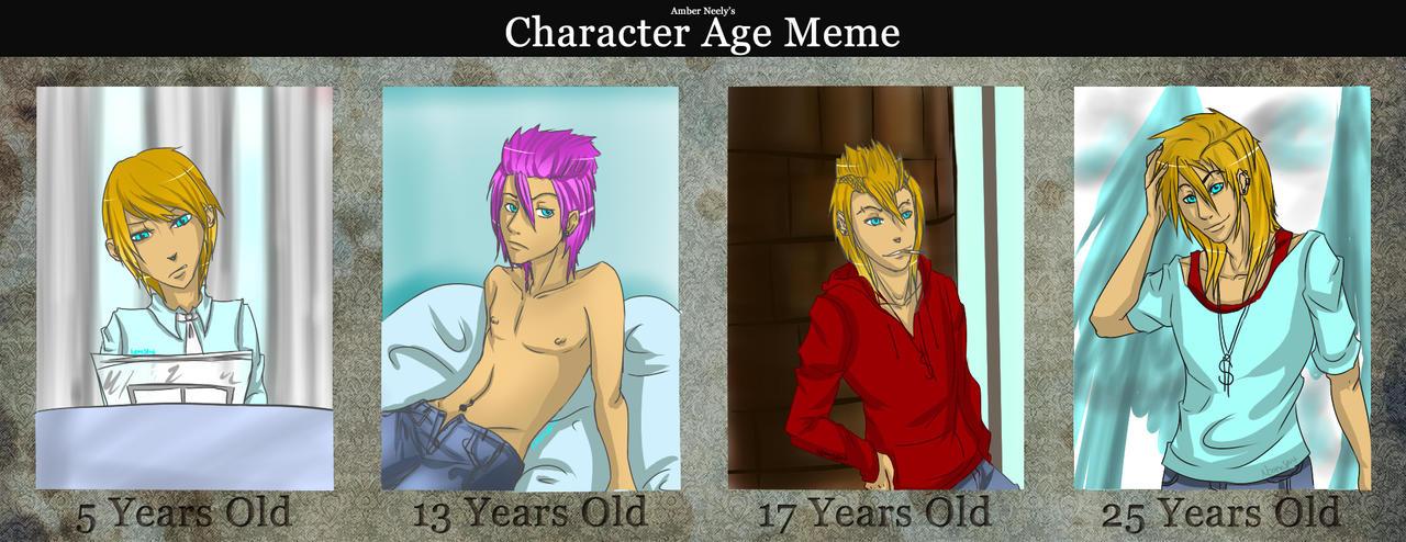 Age Meme: Brian White by NeonxSpirit