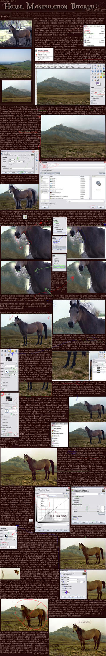 Horse Manipulation Tutorial. by youknowit561