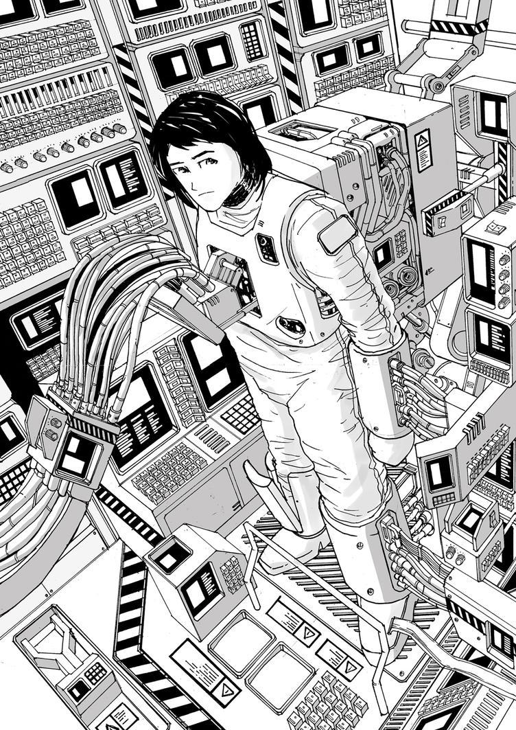 Nadya, Space Vagrant by itsgetingwirder
