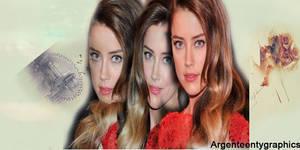 Amber Heard by goldensealgraphic