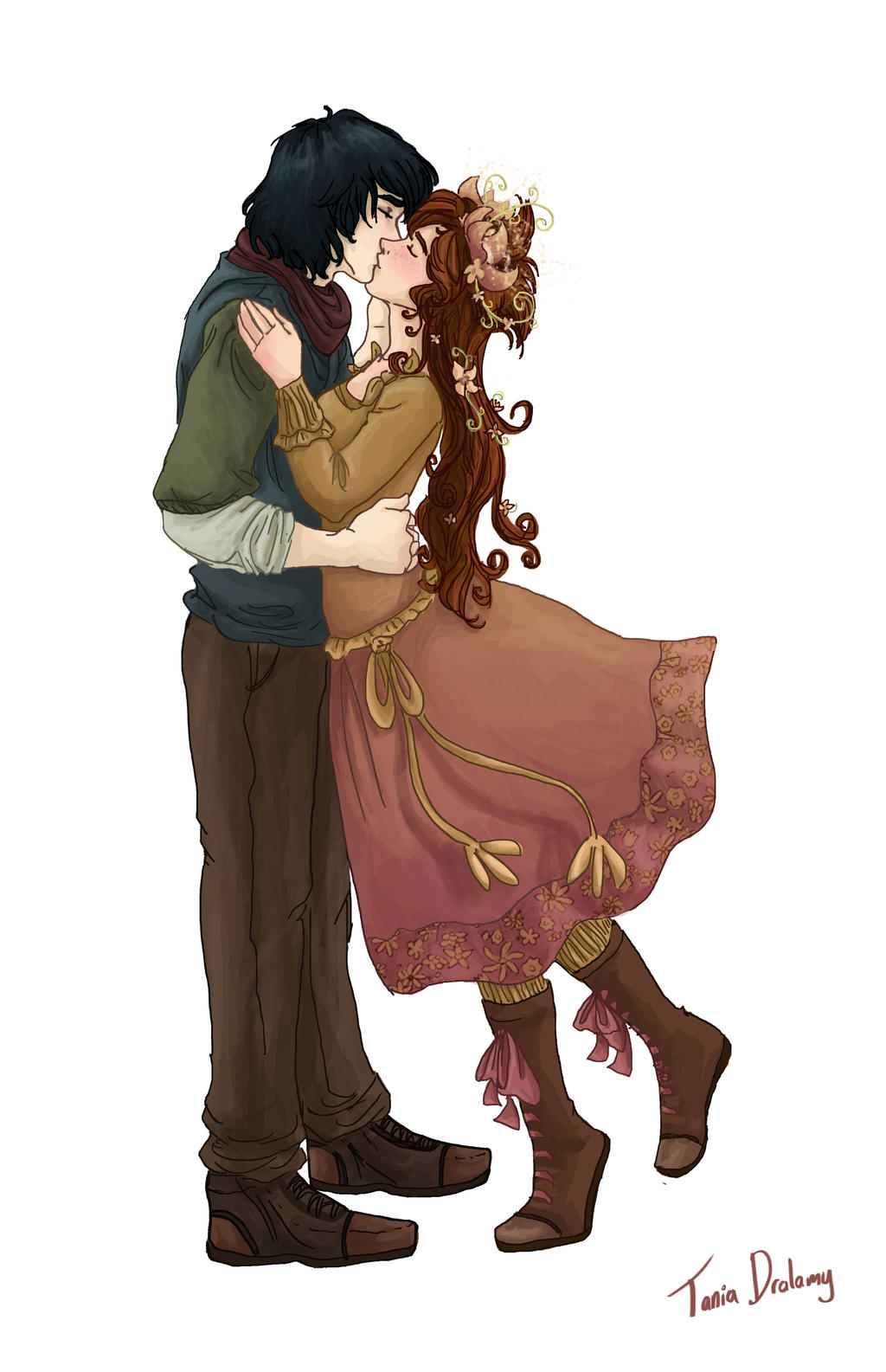 Jim and Vainilla by Dralamy on DeviantArt