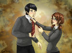 Neville x Mathilda commission