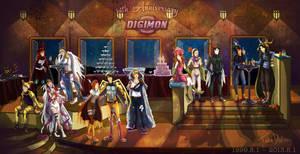 Digimon 14th Anniversary