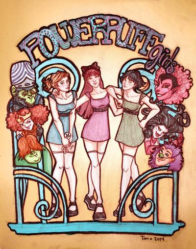 Powerpuff Girls by Dralamy