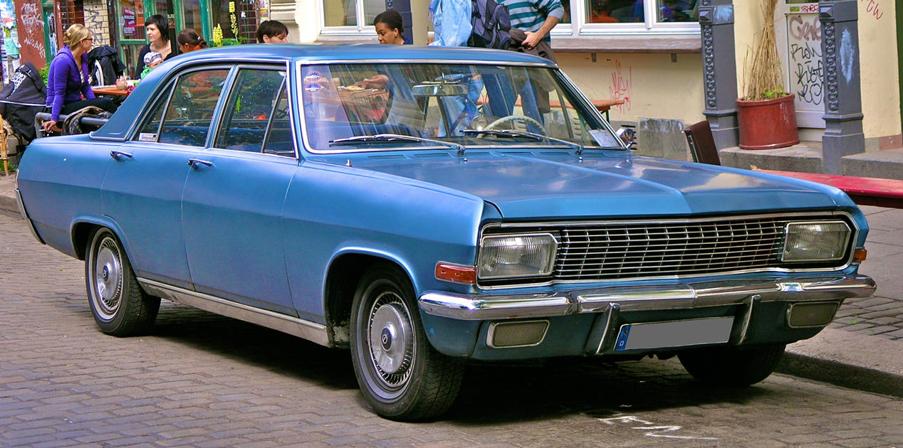 Opel Diplomat1 by cmdpirxII