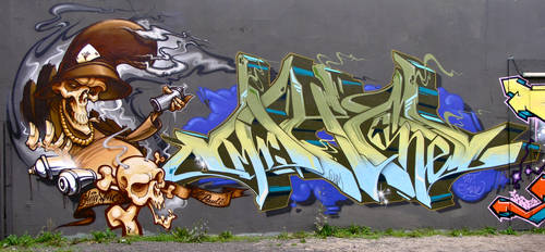Graffiti 527 by cmdpirxII