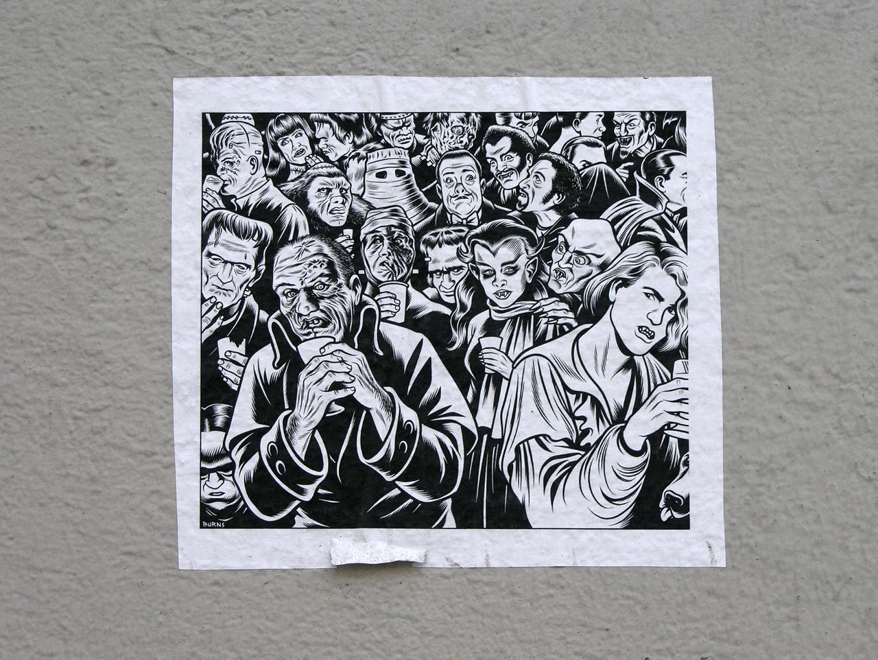 Streetart 1653 by cmdpirxII