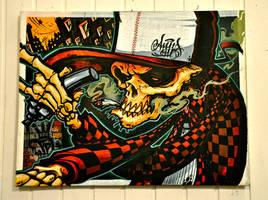 AnusOne-Exhib 'Flesh'n'Bones' 22 by cmdpirxII