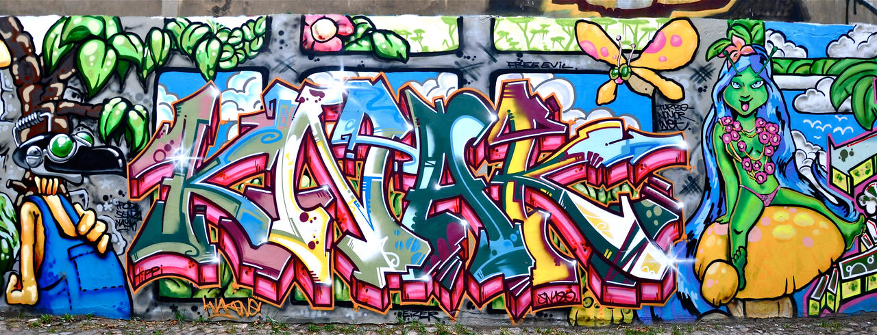 Graffiti 1696 by cmdpirxII