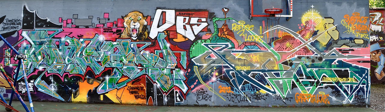 Graffiti 1842 by cmdpirxII