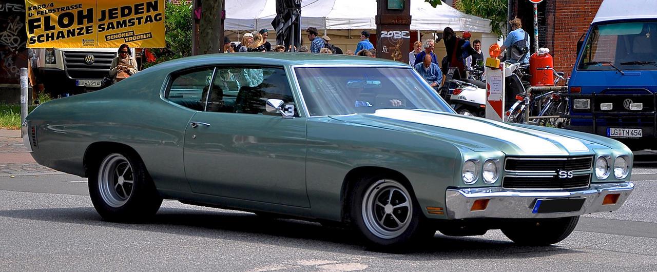 Chevy Chevelle SS by cmdpirxII
