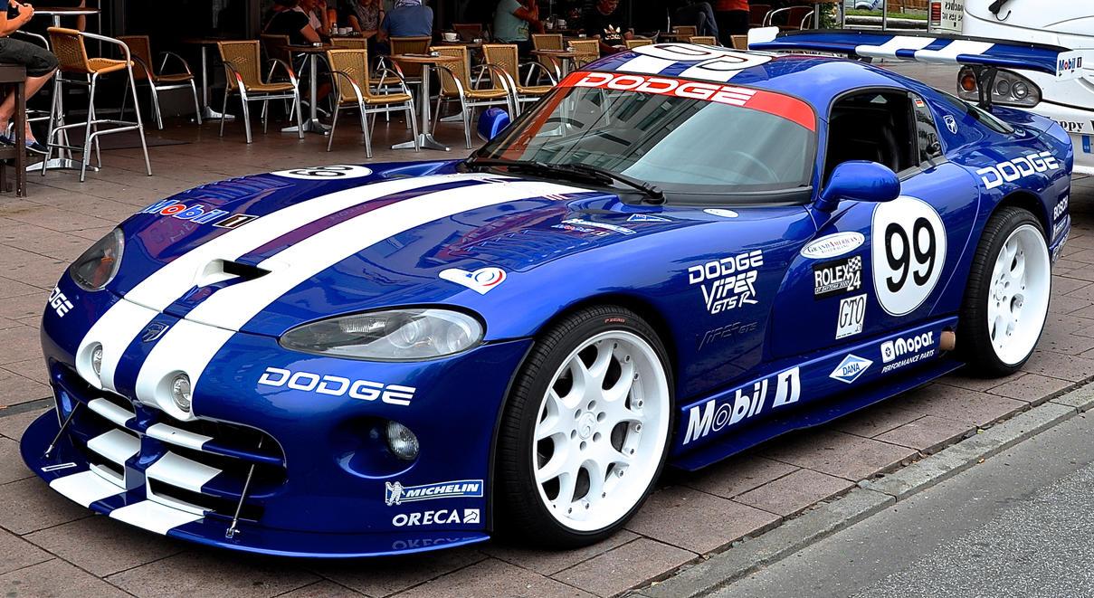 Dodge Viper GTS R 5 by cmdpirxII on DeviantArt