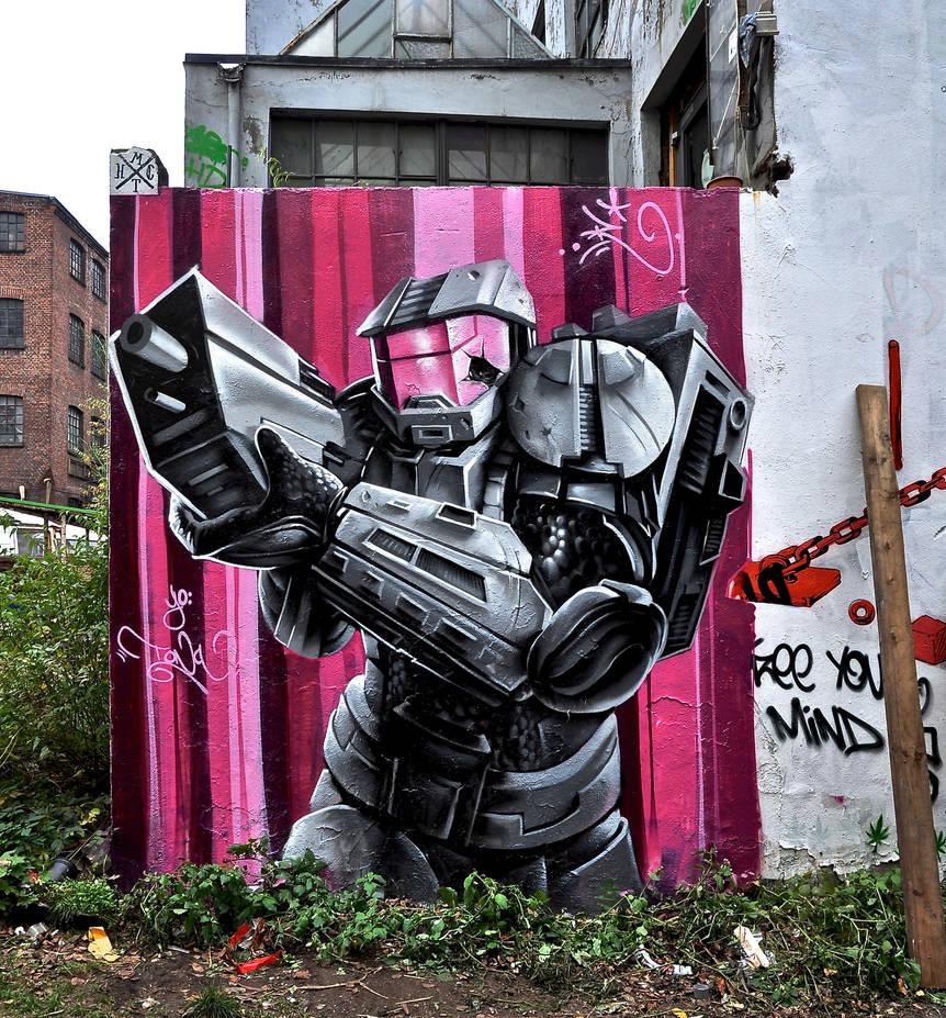Graffiti 2688 by cmdpirxII