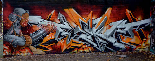 Graffiti 3226 by cmdpirxII