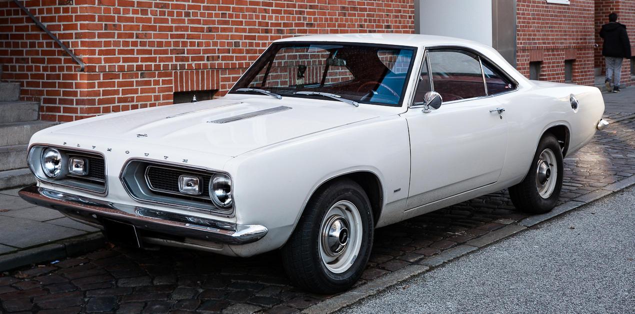 1968 Barracuda by cmdpirxII