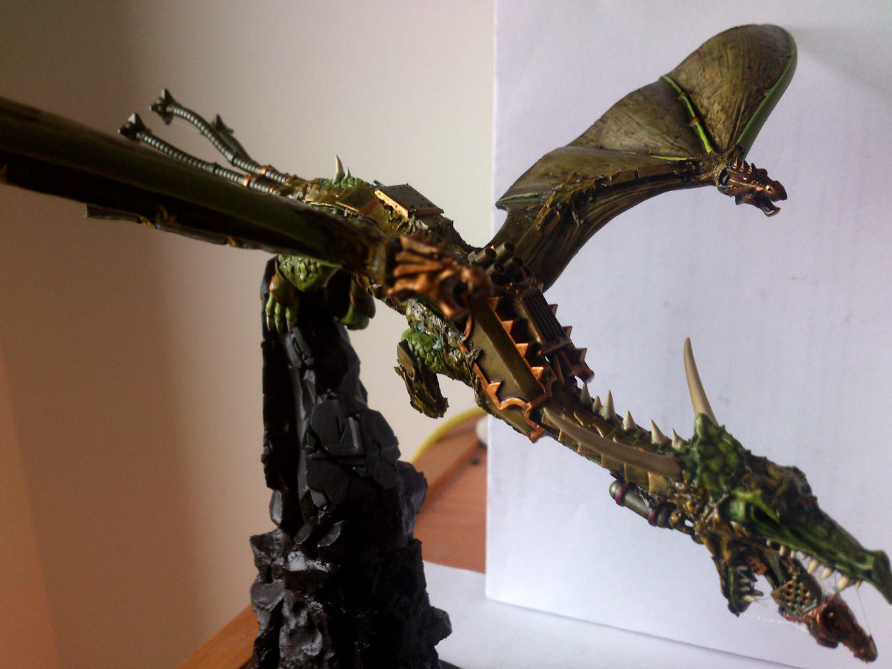 Helldrake conversion - in process 02 by franarok