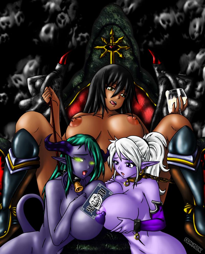 Chaos' Slaves by franarok