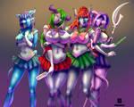 Draenic Sailor Moon by franarok