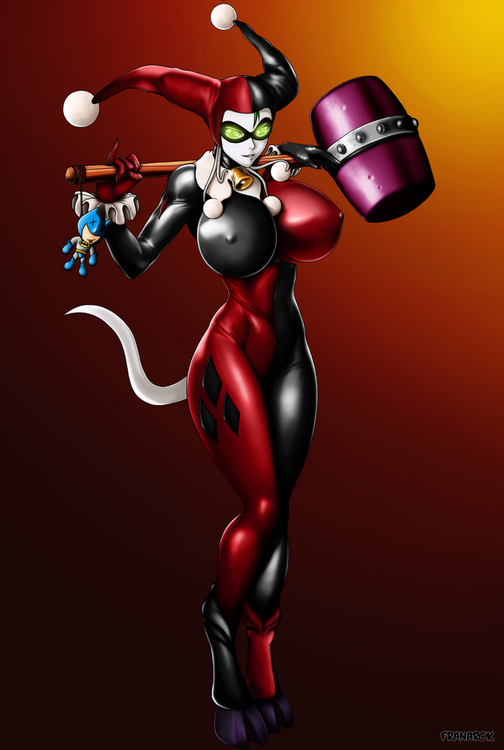 Neira as Harley Quinn! by franarok