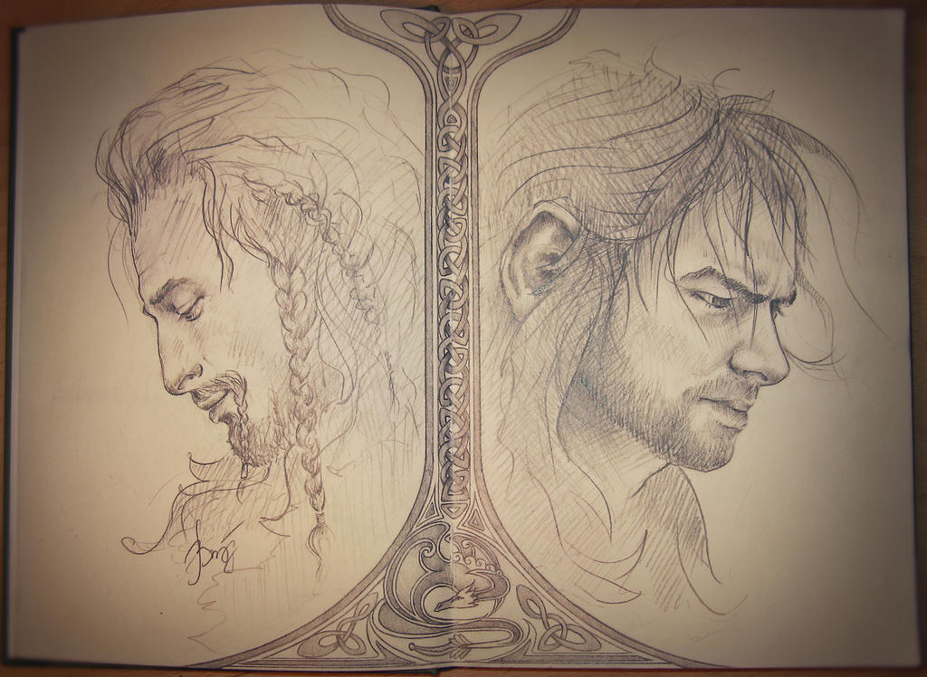 Kili and Fili by Miss-WildCard