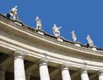 Bernini's columns at the Vatican