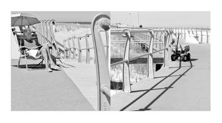 Sea Girt Diptych 2 by JJPoatree