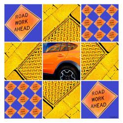 Road Work Ahead K