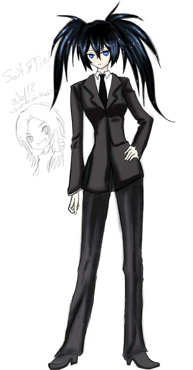 Anime girl in a suit - Anime girls in bunny suit!!! (speed draw