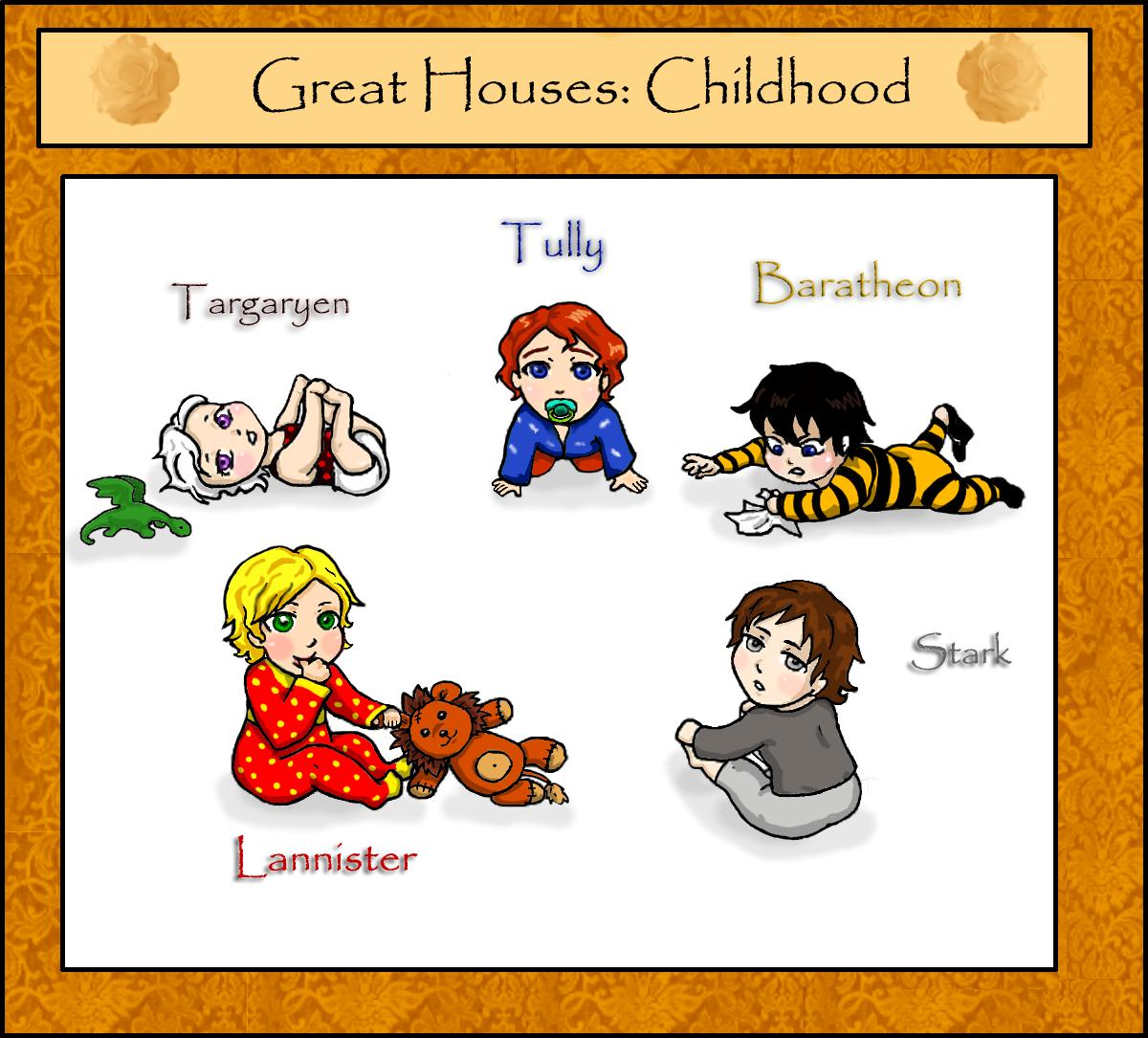 ASoIaF  Great Houses: Childhood by Arashell on DeviantArt