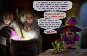 MCL- Magic. Problem by Arashell