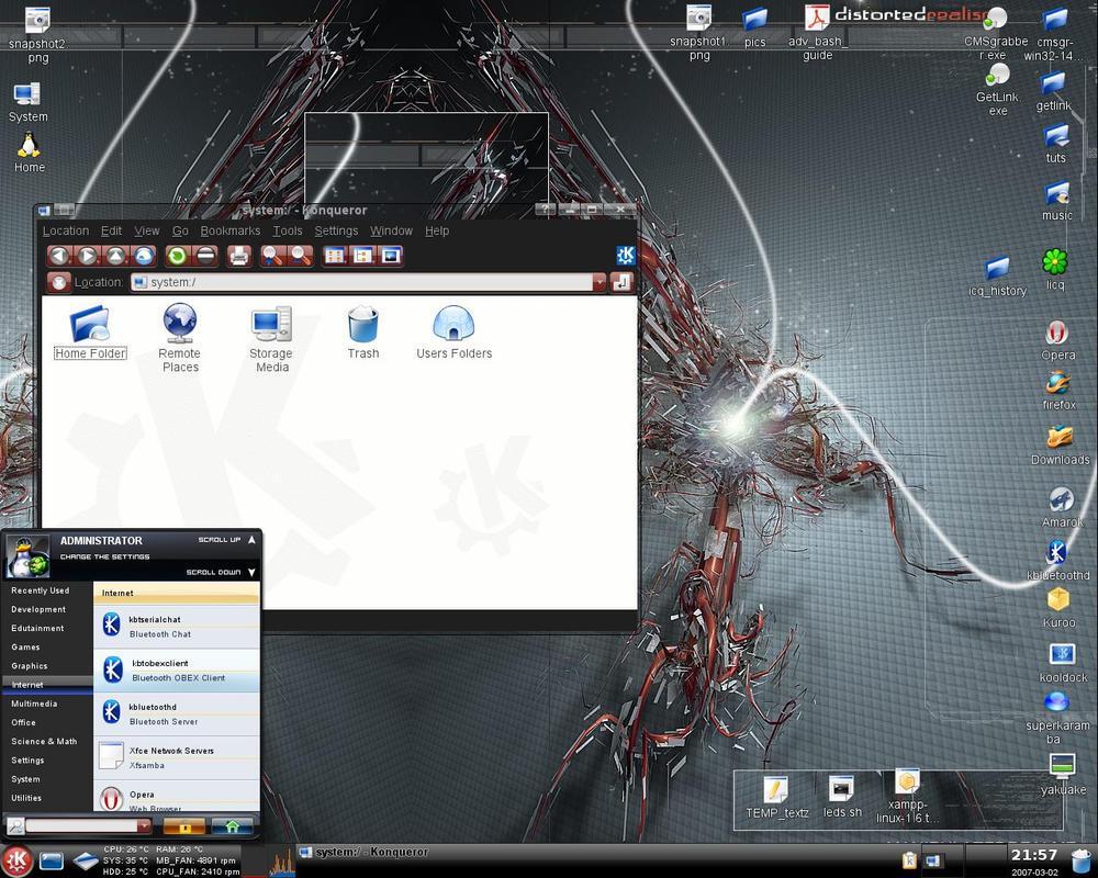 Сайт своими руками на линукс