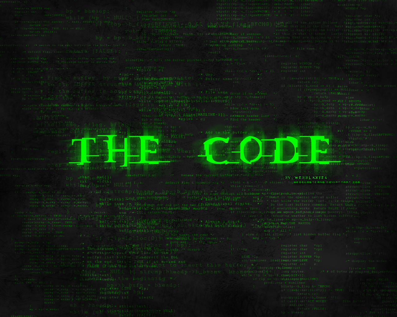 Computer Science Code Wallpaper The:code by webblaster48 Computer Science Wallpaper 1920x1080