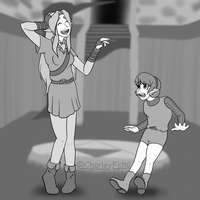 Reunited After Seven Years (Linktober 11, Link) by CharleyEcho