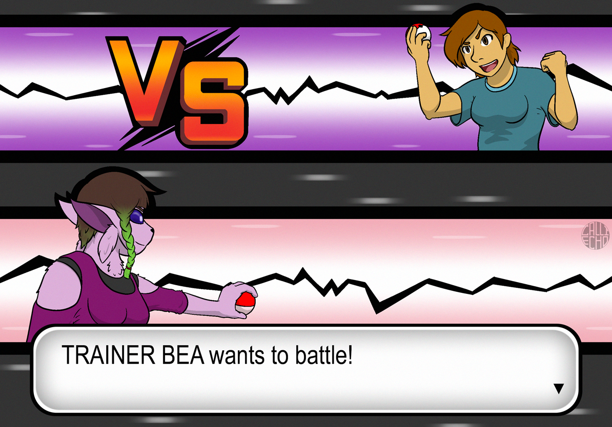 TRAINER BEA Wants to Battle!